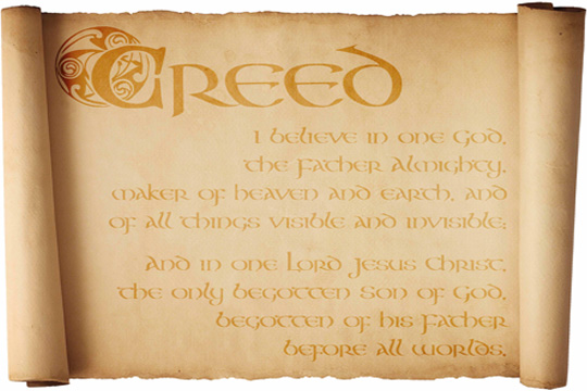 personal creed Personal creed create a folder in your google drive and label it: my creed (please include your name in the title)-- each section of the creed will be a new google .