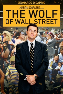 Leonardo DiCaprio in The Wolf of Wallstreet